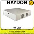 HAYDON - HAY-LDVR DVR Rack-mountable Rack Mount Enclosure for DVR D510mm x W478m x H103mm