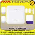 Hikvision AX Pro Middle Level Wireless Bundle 1, TCP/IP, Wi-Fi, and GPRS network - AXPRO-M-BUNDLE1