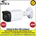 OYN-X 8MP/4K 2.8mm Fixed Lens HD-CVI Bullet CCTV Camera, CVI/CVBS/AHD/TVI switchable, 40m IR Distance, IP67 - EAGLE-8-BUL-FW