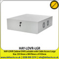 HAYDON HAY-LDVR-LGR LDVR Cabinet DVR Lockable with Cable Access Large Size  D510mm x W478mm x H103mm