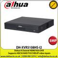 Dahua DH-XVR5108HS-I2 8 Channel 5MP DVR, Supports HDCVI/AHD/TVI/CVBS/IP Video Inputs, 1 SATA Interface, 10TB HDD Capacity, H.265+/H.265 Dual-Stream Video Compression ,HDMI, VGA - DH-XVR5108HS-I2