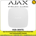 Ajax - Second-Generation Intelligent Control Panel With Four Communication Channels - HUB+(WHITE)