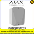 AJAX Multitransmitter White - A Module for integrating third-party wired devices into Ajax - MULTITRANSMITTER