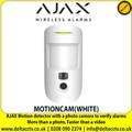 AJAX Motion Detector with a photo camera to verify alarms - MOTIONCAM(WHITE)