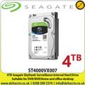 "Seagate - 4TB SATA 6Gb/s 3.5"" SkyHwak 24/7 Surveillance Internal Hard Drive- ST4000VX007"