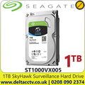 "1TB Hard Drive Seagate SkyHawk Surveillance SATA3 3.5"" HDD ST1000VX005, Hard Drive for CCTV Camera DVR NVRS"