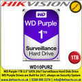 1TB Hard Drive for CCTV Camera, DVRS, NVRS, DESKTOP PC Hikvision  DS-7204HQHI-K1/P  4-ch 1080p 1U H.265 PoC DVR