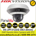 Hikvision DS-2PT3122IZ-DE3 2MP 8mm Lens Single-Directional PanoVu Mini Camera with PTZ