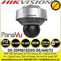Hikvision 8MP 180° Panoramic & PTZ Camera DS-2DP0818ZIXS-DE/440/T2