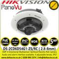 Hikvision DS-2CD6D54G1-ZS/RC 5MP 4-Directional Multisensor Varifocal PanoVu Network Camera