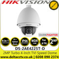 Hikvision 2MP Analog Speed Dome Camera with TVI/AHD/CVI/CVBS - 25 x Zoom - Darkfighter - IP66 - WDR - 3DNR - DS-2AE4225T-D