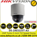 Hikvision DS-2AE5225T-A3 2MP Analog Speed Dome Camera with - 25× optical zoom, 16× digital zoom - Darkfighter - 4-in-1 TVI/AHD/CVI/CVBS