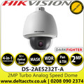 Hikvision 2MP Analog Speed Dome Camera with - 32× optical zoom, 16× digital zoom - Darkfighter - 4-in-1 TVI/AHD/CVI/CVBS - DS-2AE5232T-A