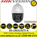 Hikvision 2MP Analog Speed Dome Camera with - 32× optical zoom, 16× digital zoom - Darkfighter - 4-in-1 TVI/AHD/CVI/CVBS - DS-2AE5232TI-A