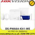 AX PRO Wireless Control Panel Kit Light Level DS-PWA64-Kit1-WE