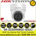Hikvision DS-2CD2H66G2-IZS (C) 6MP AcuSense Darkfighter 2.8-12mm Motorized Varifocal Lens Turret Network IP Camera with IR