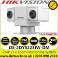 Hikvision DS-2DY5223IW-DM 2MP 23 x Zoom Mobile Ultra-low illumination IR Positioning System Lite - Analog/Network dual output