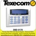Texecom (DBD-0170) Premier Elite FMK Flush Mount Keypad - Diamond White