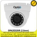 2MP Full HD 1080p Nightvision Outdoor IR CVI Eyeball Camera - Fixed Lens - 30 m IR Range - IP67 - OPA2ED28IR (2.8mm)