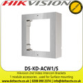 Hikvision Wall Bracket for Single Modular Door Station in Stainless Steel - DS-KD-ACW1/S