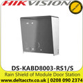 Hikvision Stainless Protective Rain Shield For Use with DS-KD-ACW1/S Single Wall Mount (DS-KABD8003-RS1/S )