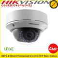 Hikvision DS-2CD2742FWD-IZS 4MP 2.8-12mm vari-focal motorised lens 30m IR CCTV PoE IP Network Dome Camera