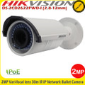 Hikvision DS-2CD2622FWD-I  2MP 2.8-12mm Vari-focal lens 30M IR CCTV  IP Network Camera
