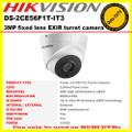 Hikvision DS-2CE56F1T-IT3 3MP 2.8mm 2052x1536 IR 40m ,CCTV HDTVI Turret camera, Analog HD output, EXIR technology