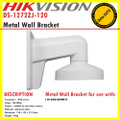 Hikvision DS-1272ZJ-120 White Wall Mounting Bracket For CCTV Mini Dome Camera