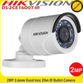 Hikvision DS-2CE16D0T-IR 2MP 3.6mm fixed lens 20m IR mini bullet camera