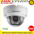 Hikvision DS-2CD2120F-I 2MP  2.8mm/4mm fixed lens 30m IR CCTV IP Network Dome Camera