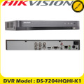 Hikvision 4 Channel Turbo HD-TVI/AHD/Analogue H.265+  DVR