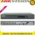 Hikvision 16 Channel 2MP Turbo 3 HD-TVI/AHD DVR With HDMI/VGA & Alarm+ 2x HDD