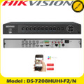 Hikvision CCTV DVR 8 Channel 3MP Turbo 3 HD-TVI/AHD DVR With HDMI/VGA+ 2xHDD - DS-7208HUHI-F2/N