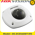 Hikvision DS-2CE56D8T-IRS  2MP TVI PoC Ultra-low light Mini Dome Audio Camera 20m IR  Fixed Lens /IP67
