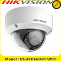 Hikvision DS-2CE56D8T-VPIT  2MP TVI Ultra-low light Dome 3.6mm /20m IR  Vandal Proof /IP67