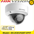 Hikvision 8MP fixed lens ultra low light EXIR dome camera - DS-2CE57U8T-VPIT