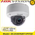 Hikvision DS-2CE59U8T-VPIT3Z 8MP motorized varifocal lens ultra low light EXIR CCTV Dome camera DS-2CE59U8T-VPIT3Z