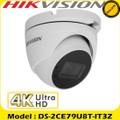 Hikvision DS-2CE79U8T-IT3Z 8MP high resolution (4K) motorized varifocal lens ultra low light turret CCTV Camera 80m IR distance