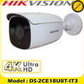 Hikvision DS-2CE18U8T-IT3 8MP fixed lens ultra low light cctv bullet camera