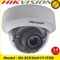 Hikvision DS-2CE56H1T-ITZE 5MP motorized varifocal PoC EXIR internal dome camera