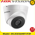 Hikvision DS-2CE56H0T-IT3F 5MP fixed lens EXIR turret camera 4 in 1 TVI, CVI, AHD or Analogue camera