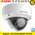 Hikvision DS-2CE56D8T-VPITE 2MP 2.8mm fixed lens ultra low light PoC EXIR dome camera