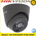 Hikvision DS-2CE56D8T-IT3E/GREY 2MP fixed lens ultra low light PoC turret camera