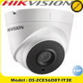 Hikvision DS-2CE56D8T-IT3E 2MP TVI PoC Ultra-low light Turret Camera 40m IR  Fixed Lens