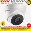 Hikvision DS-2CE56D8T-IT3E 2MP 2.8mm fixed lens 40m IR TVI PoC Ultra-low light Turret Camera