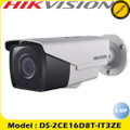 Hikvision 2MP motorized varifocal ultra-low light HD-TVI POC EXIR PoC bullet camera