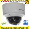 Hikvision DS-2CD2785FWD-IZS 8MP 2.8 - 12mm motorized varifocal lens dome camera 30m IR distance