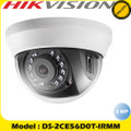 HIKVISION DS-2CE56D0T-IRMM 2MP 3.6mm fixed lens  HD-TVI AHD CCTV DOME TURBO HD CAMERA 2.8mm LENS 20 IR INDOOR 4IN1