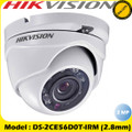 Hikvision DS-2CE56D0T-IRM 2MP 2.8mm fixed lens 20M IR Turbo TVI HD IP66 Eyeball Camera